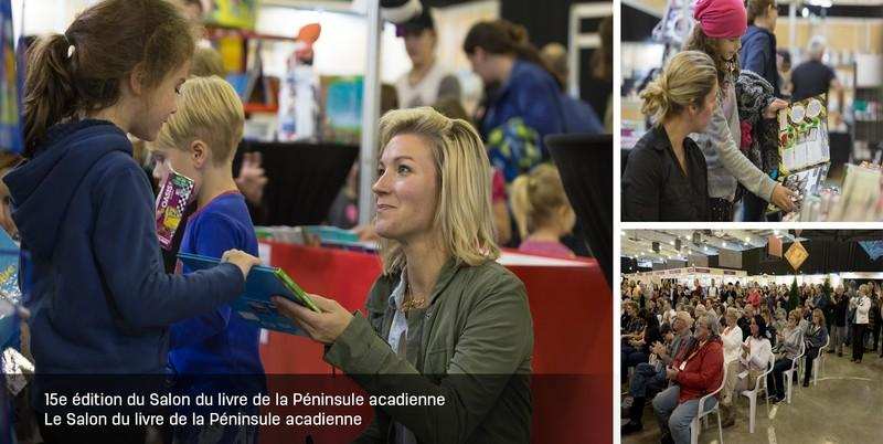 15th Edition of the Acadian Peninsula Book Fair Image 1